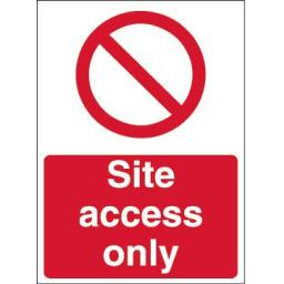 Site access only