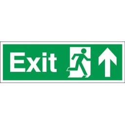 Exit - Running man - Up arrow