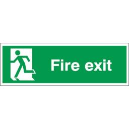 Fire exit - Running man left