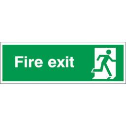 Fire exit - Running man right
