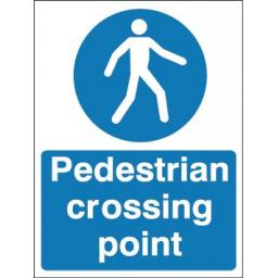 Pedestrian crossing point