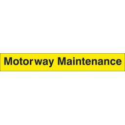 Motorway Maintenance