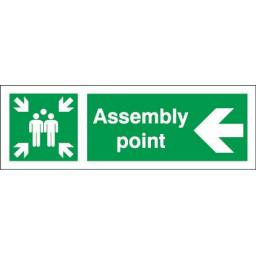 Assembly point - Left arrow