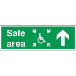 Safe area - Disabled - Up arrow