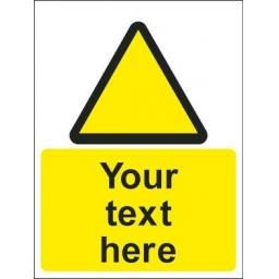 Warning Symbol + Your text here