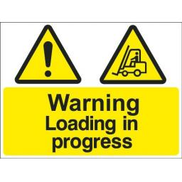 Warning Loading in progress