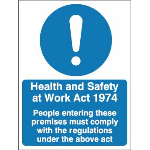 Health and Safety at Work Act 1974