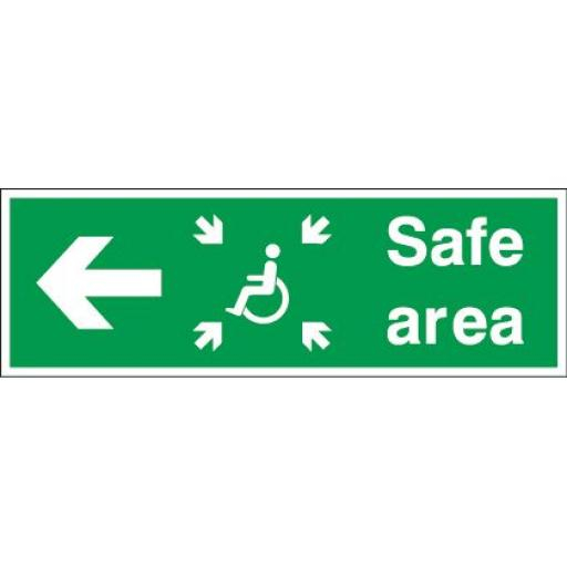 Safe area - Disabled - Left arrow