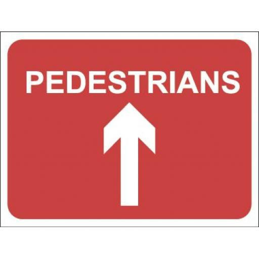 PEDESTRIANS - Arrow Up