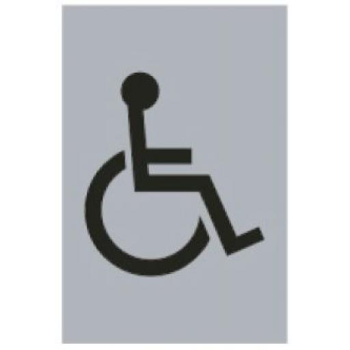 Disabled symbol (Drilled only)