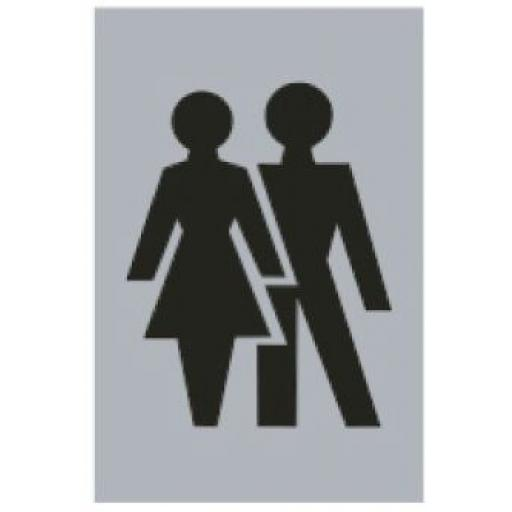Male & Female symbol (Drilled only)