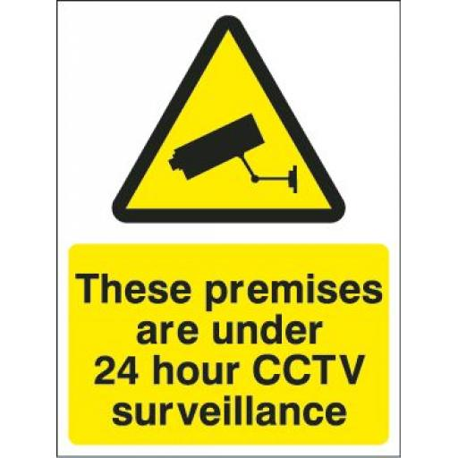 These premises are under 24 hour CCTV surveillance