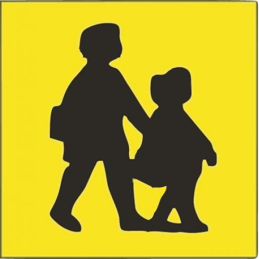 Childrens Bus Sign (1 pair)