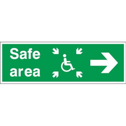 Safe area - Disabled - Right arrow