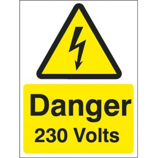 Danger 230 Volts