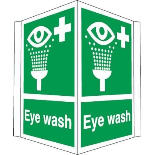 Eye wash (Projecting sign)