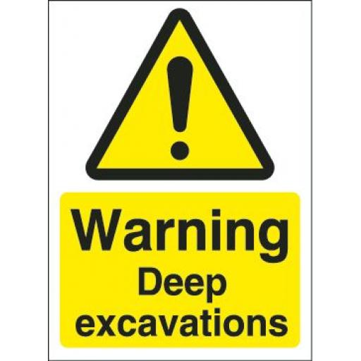 Warning Deep excavations