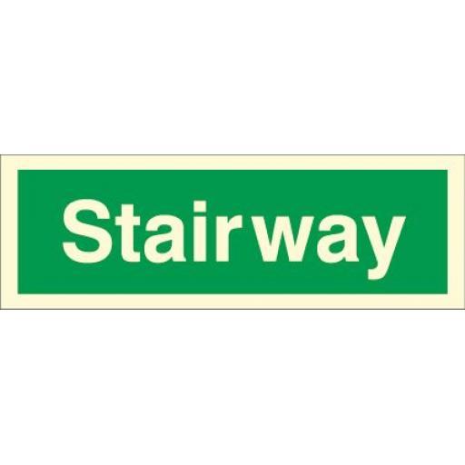 Stairway (Photoluminescent)