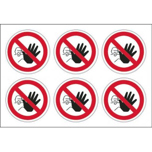Stop labels x 24