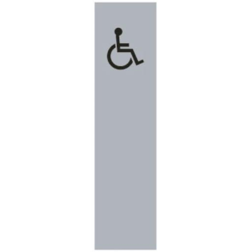 Disabled symbol - long (Drilled only)
