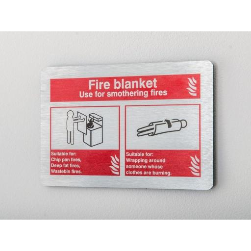 Fire blanket use Identification (Prestige)