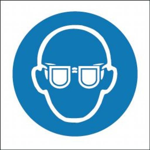 Eye protection logo