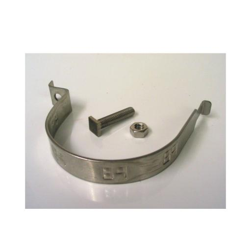 Sign Fixing Clips (For 76 mm Post) (Sold In Pairs)