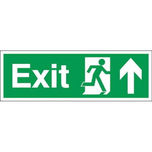Exit - Running man - Up arrow