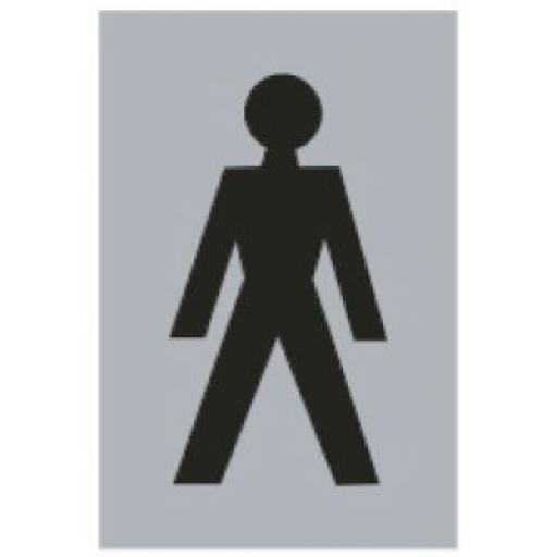 Male symbol (Drilled only)