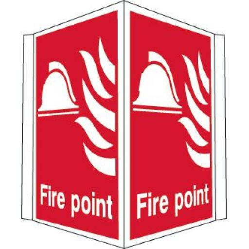 Fire point (Projecting sign)
