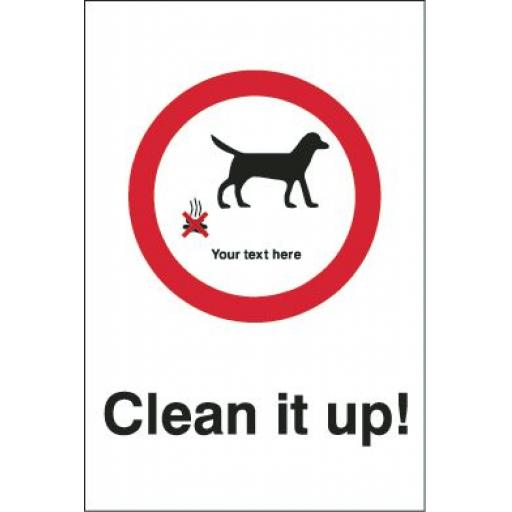 Clean it up ! - Your text here