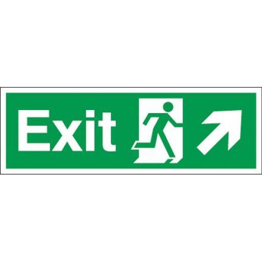 Exit - Running man - Right up arrow