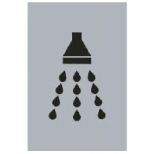 Shower symbol (Drilled only)