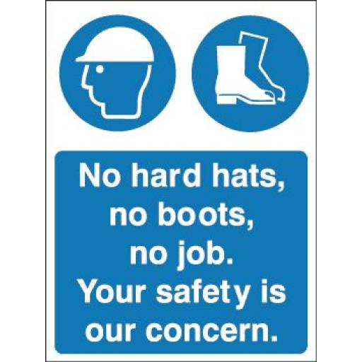 No hard hats, no boots, no job