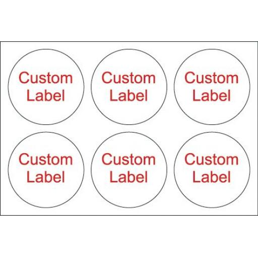 Custom labels x 24
