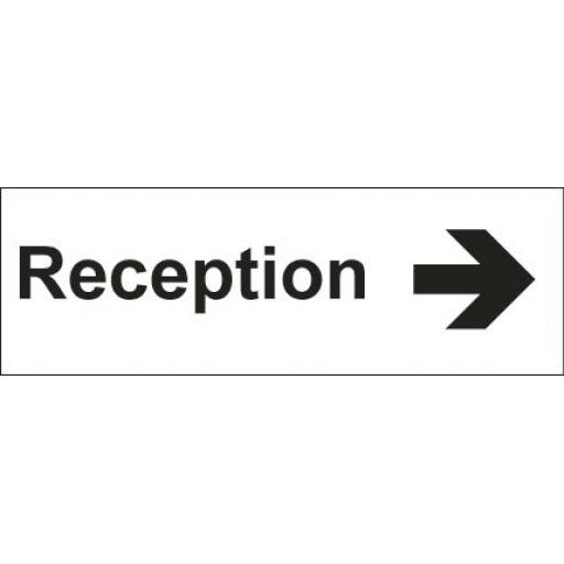 Reception - Arrow right (Double sided)