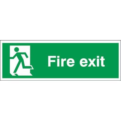 Fire exit - Running man left
