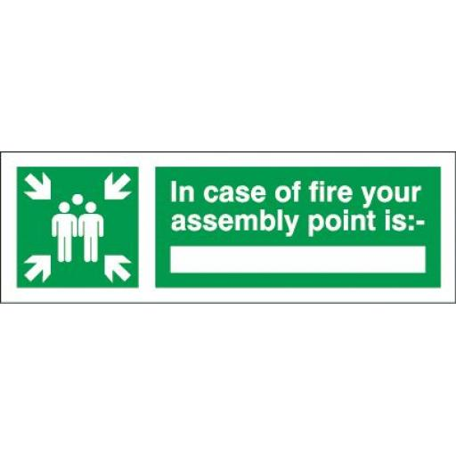 In case of fire your assembly point is: