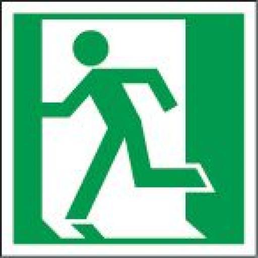 Running man - Left