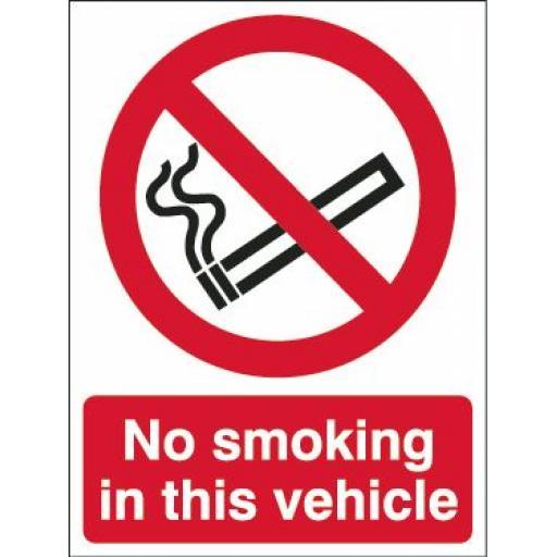 No smoking in this vehicle (2)
