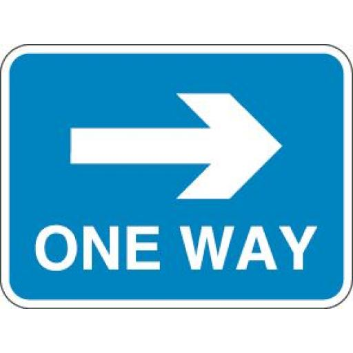 ONE WAY (Arrow Right)