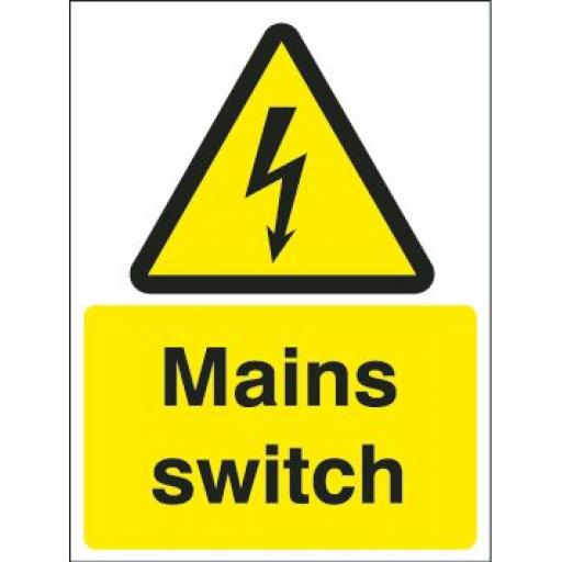 Mains switch