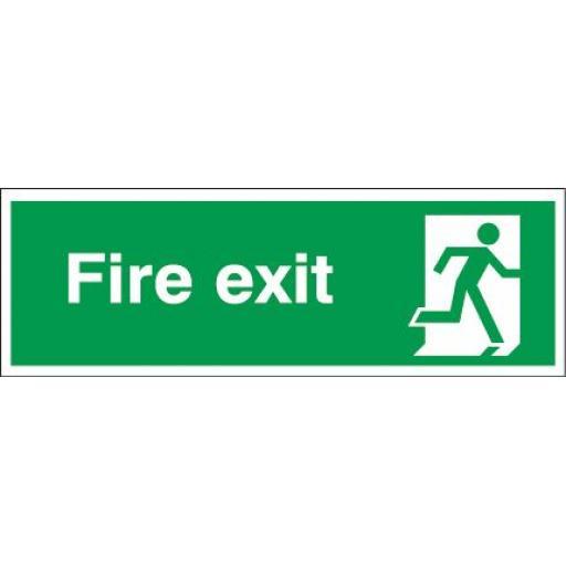 Fire exit - Running man right