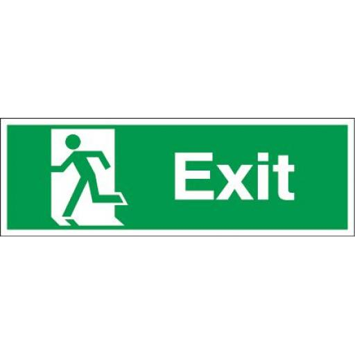 Exit - Running man - Left