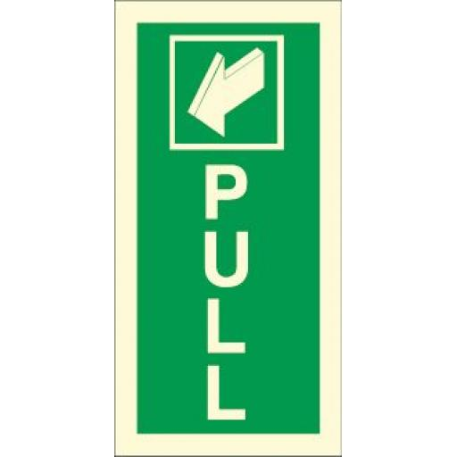 Pull - Arrow (Photoluminescent)