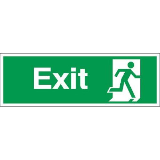 Exit - Running man - Right