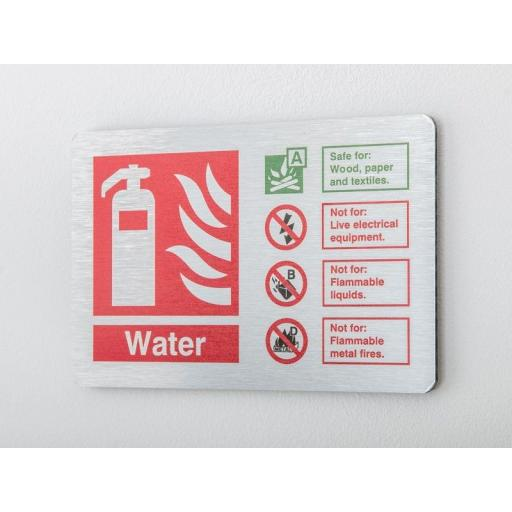 Water Fire extinguisher Identification (Prestige)