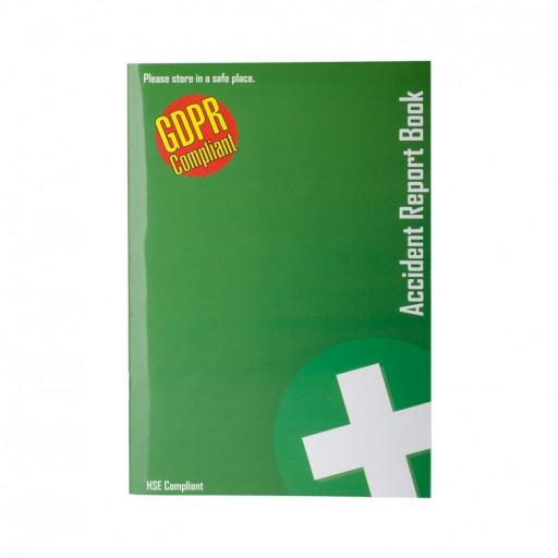 First Aid Accident Book (GDPR Compliant)