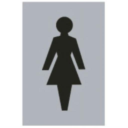 Female symbol (Drilled only)