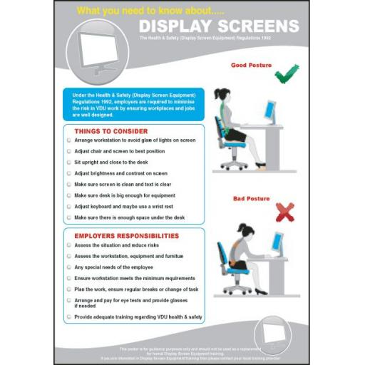 DISPLAY SCREENS poster